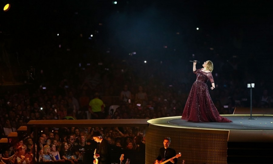 February 28: Adele delighted her fans at Domain Stadium  in Perth, Australia as part of her world tour. This was the 28-year-old Grammy-award winning singer's first concert of 2017.