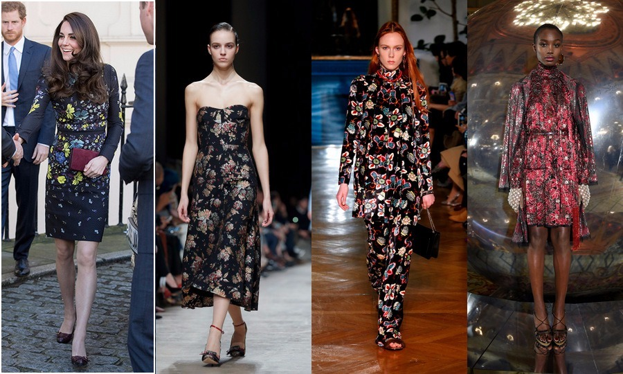 <B>7) DARK FLORALS</B>
