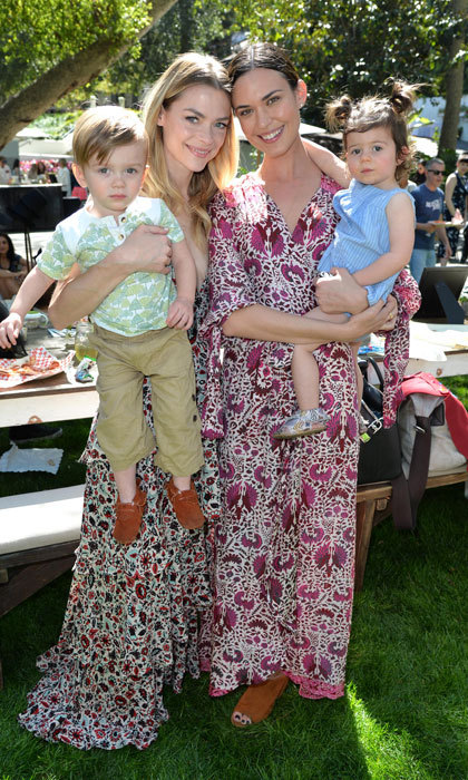March 11: Jaime King and Odette Annable brought their adorable kids to the Pottery Barn Kids and Emily & Meritt launch at The Lodge in Beverly Hills.