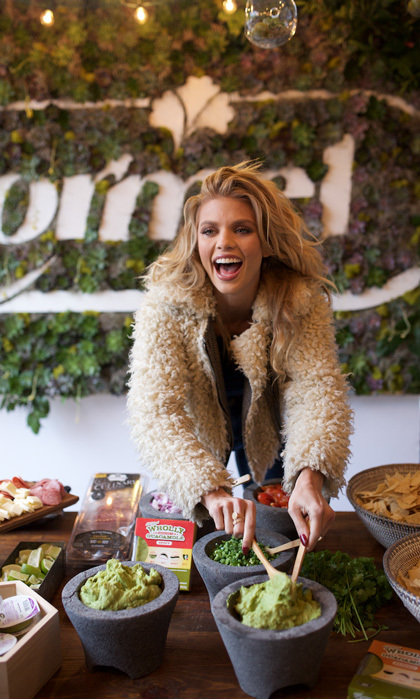 March 12: Annalynne McCord tested out her skills in the kitchen with Wholly Guacamole and Natural Choice at the Hormel Gatherings during SXSW in Austin.