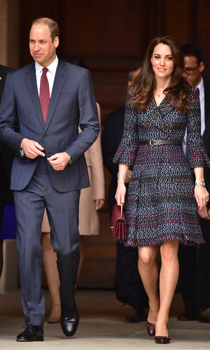 On the second day of their visit, Prince William and Kate arrived at Les Invalides for their first engagement on Saturday. There, the couple heard emotional stories from a number of survivors of the Bataclan and Nice attacks. 