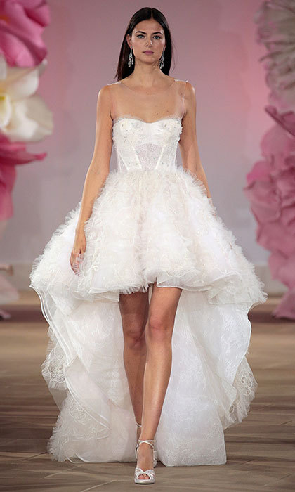 Short Wedding Dresses For The Spring Summer 2017 Bride HELLO US