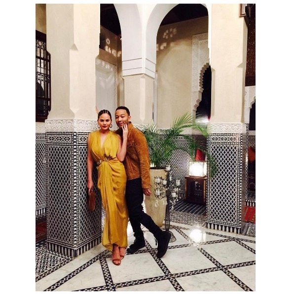 The crooner and his wife showed off their style and the aesthetic while in the Moroccan city. The couple were also joined by celebrity hairstylist Jen Atkin and her husband.