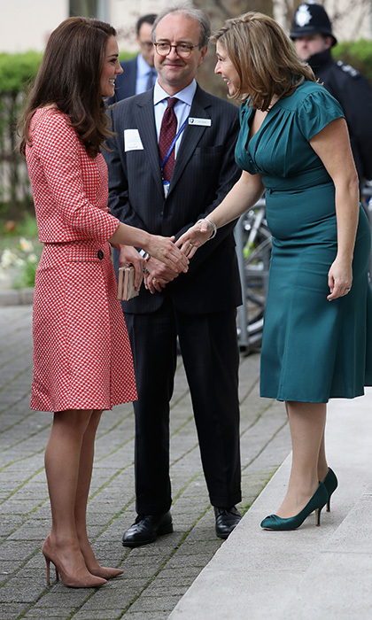 Kate visited the Best Beginnings charity in London to talk parenthood and attend the launch of maternal mental health films at the Royal College of Obstetricians and Gynaecologists. 
