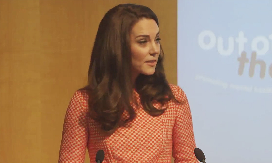 "During her speech, Kate paid tribute to victims of the Westminster terrorist attack, which took place on Wednesday. ""We will be thinking of all the families, as we discuss the important issues we're here to talk about,"" she said.