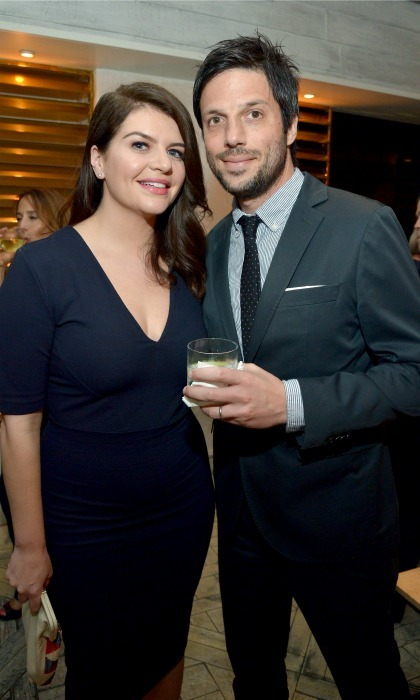 <b>Casey Wilson and David Caspe</b>