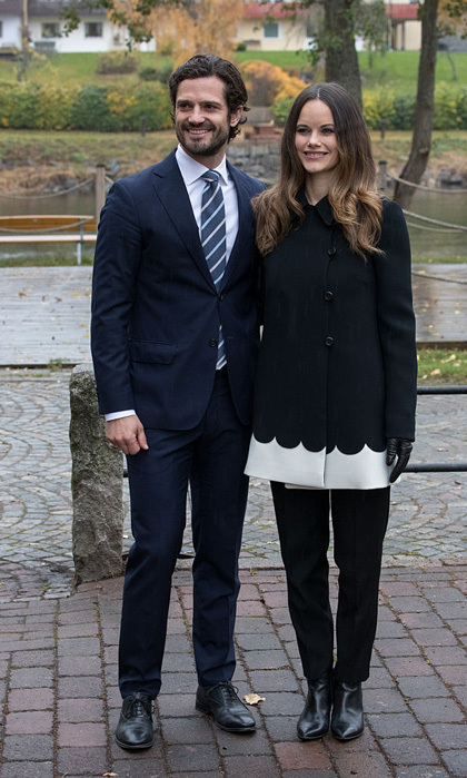 <b>Prince Carl Philip and Princess Sofia</b>
