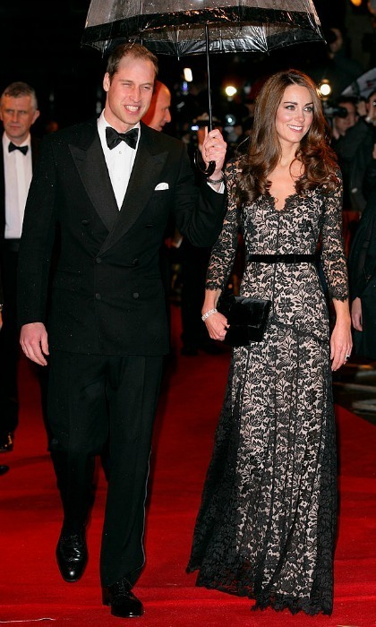 Kate wore a black lace number by the British designer to the premiere of <i>War Horse</i> in 2012.
