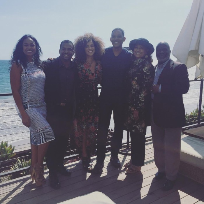 March 27: Cue the theme song! Will Smith and his <i>The Fresh Prince of Bel-Air</i> co-stars had a mini-reunion at Nobu in Malibu. While it's been over two centuries since the show wrapped, Will, Tatyana Ali, Alfonso Ribeiro, Karyn Parsons, Daphne Etta Maxwell and Joseph Marcell still looked fresh! Alfonso shared the photo, writing: