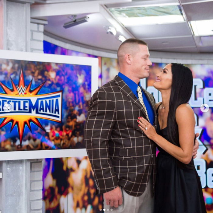 <b>John Cena and Nikki Bella</b>
