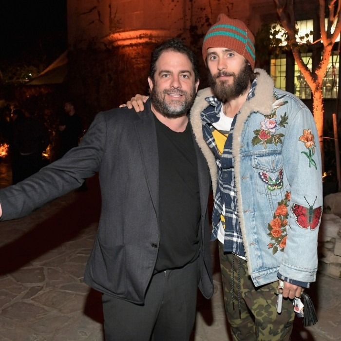 April 4: Brett Ratner and Jared Leto were among the stars to celebrate Amazon's Original Series <i>American Playboy: The Hugh Hefner Story</i>. The famed producer and the Ocar-winning actor caught up at the premiere event.