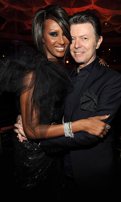 The musician and wife Iman lived in the apartment from 1992 until 2002.