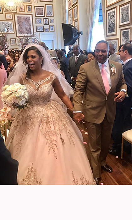<b>Omarosa Manigault and John Allen Newman</b>