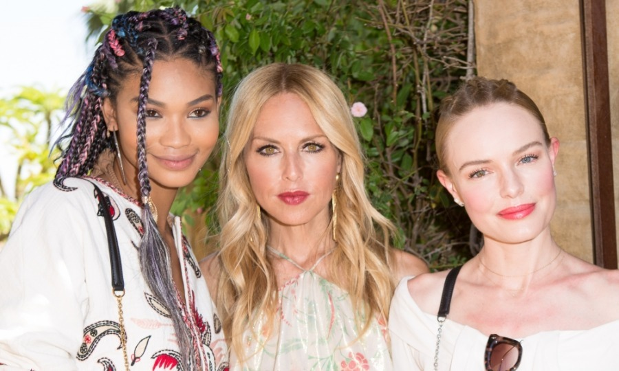 April 15: Chanel Iman and Kate Bosworth chatted with the hostess Rachel Zoe at her The Zoe Report third annual ZOEasis Style Retreat in Palm Springs.