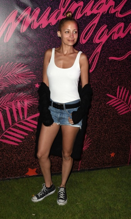 April 14: Sofia's sister Nicole Richie was also seen among the star-filled crowd at the NYLON Midnight Garden Party. The event featured made-to-order Coolhaus ice cream sandwiches, Johnnie & Soda cocktails and even a hairstyling station by Batiste Dry Shampoo.