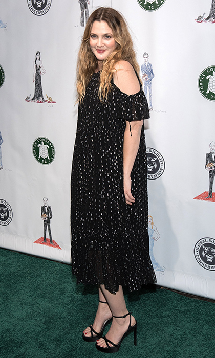 April 17: Drew Barrymore channeled effortless glamour in Needle & Thread at the 2017 Turtle Ball at The Bowery Hotel in New York City. 
