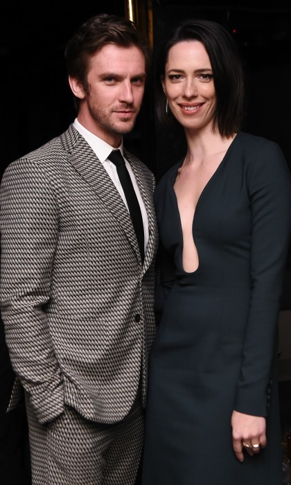 Dan Stevens and Rebecca Hall attended the after-party for Permission sponsored by Heineken during 2017 Tribeca Film Festival at Up & Down.