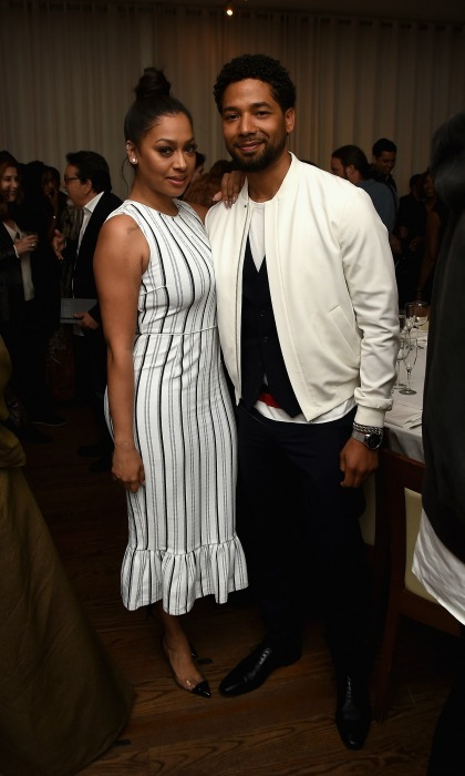 Lala Anthony and Jussie Smollett attended AT&T & Tribeca's celebratory launch of Untold Stories: An Inclusive Film Program at Thalassa.
