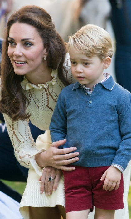 "Prince George likes two things, pancakes and thunderstorms. Kate chatted with families at the Ronald McDonald house in London and opened up about her eldest child's likes and location. When a young boy asked Kate where George was during the Pancake Day celebration in February, the Duchess replied: ""George? I should have brought him. ""He's at his Montessori nursery today making pancakes."" 