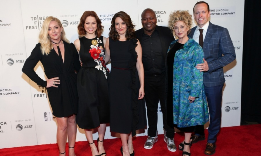 Jane Krakowski, Ellie Kemper, Tina Fey, Titus Burgess Carol Kane and Robert Carlock attended the screening of their hit show <i>Unbreakable Kimmy Schmidt</i>. The Netflix series premiered its season 3 opener and held a convesation with the cast and creators at BMCC Tribeca PAC. 