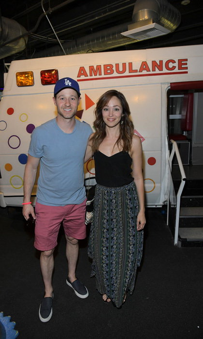 April 30: Autumn Reeser and Ben McKenzie had an <i>OC</i> reunion at the Zimmer Children's Museum WE ALL PLAY Fundraiser in L.A.