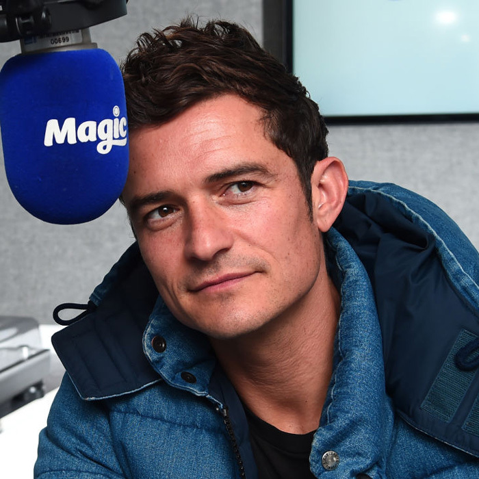 April 26: Orlando Bloom was pure magic during his visit to KISS FM in London to promote his latest project <i>Unlocked</i>.