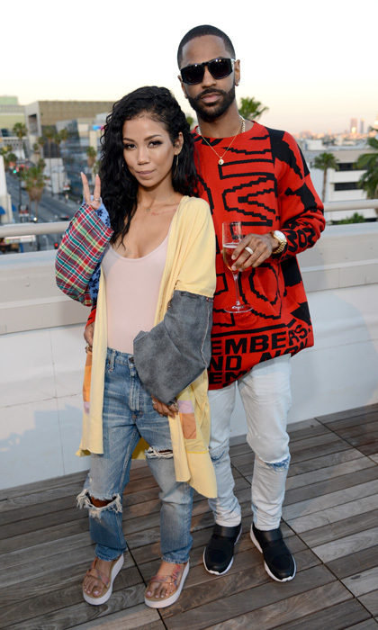 May 1: Big Sean supported his girlfriend at the launch of her Teva x Jhené Aiko collection with a private event at NeueHouse in L.A.