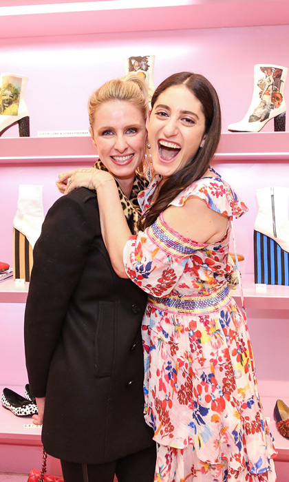 May 3: Nicky Hilton supported friend Arden Wohl during the private trunk show of Maison-de-Mode and Cri de Coeur at Bloomingdale's Soho in NYC.