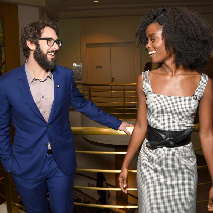 May 3: Josh Groban and Denee Benton celebrated their Tony Awards nominations with a gathering at the Sofitel New York.