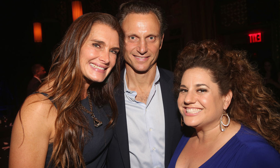 May 1: Brooke Shields, Tony Goldwyn and Marissa Jaret Winokur were quite the trio at The Second Stage Theater 38th Anniversary Gala honoring David Rockwell at TAO Downtown in NYC.