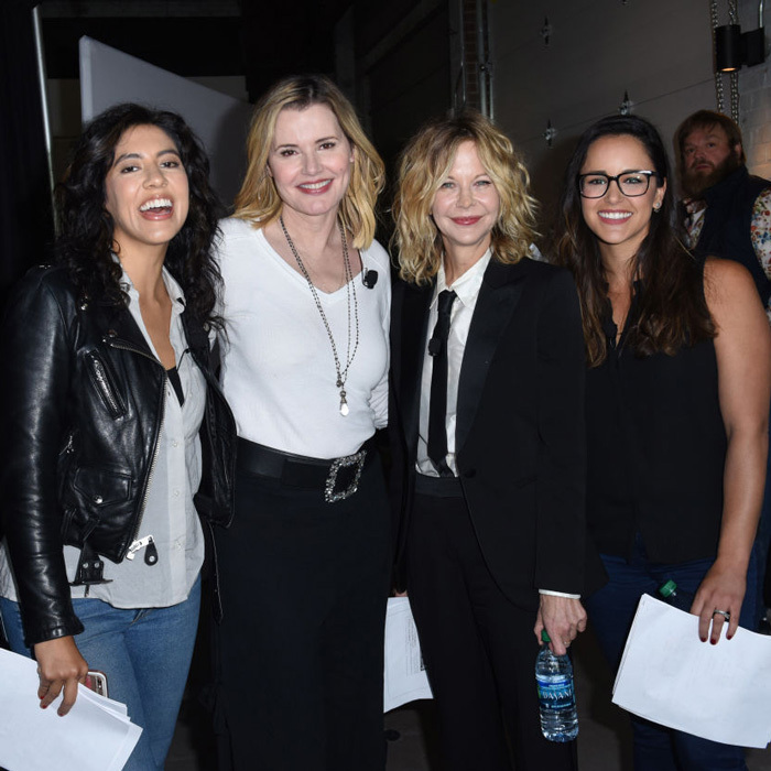 May 4: Meg Ryan as well as Stephanie Beatriz and Melissa Fumero joined Geena Davis at her Bentonville Film Festival presented by Walmart and Coca-Cola which champions women and diverse voices in media. 