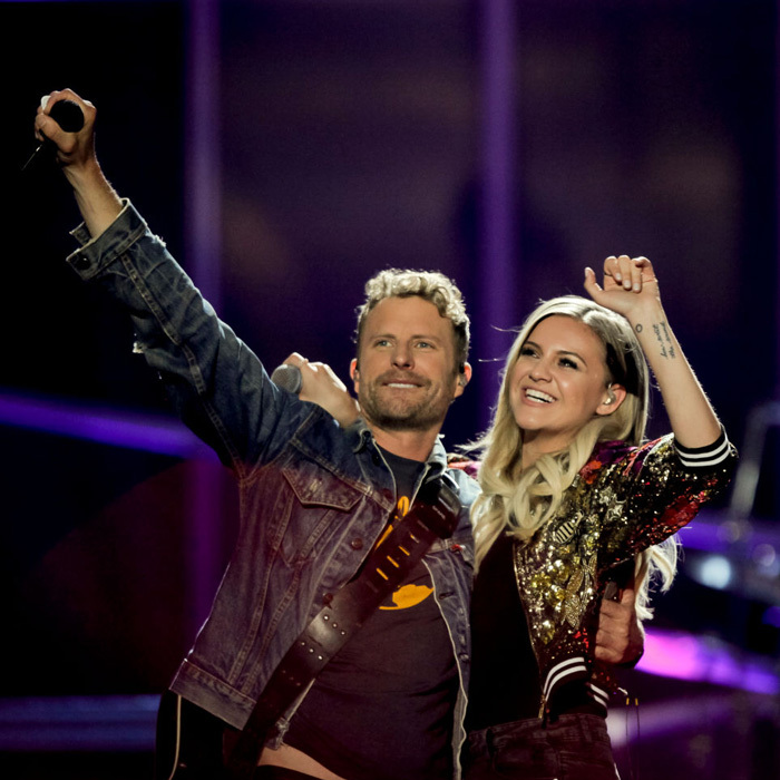 May 6: Kelsea Ballerini joined Dierks Bentley to perform <i>Different for Girls</i> during the iHeartCountry Festival in Austin, Texas. Other musical acts to grace the stage were Lady Antebellum, Jason Aldean and Little Big Town.