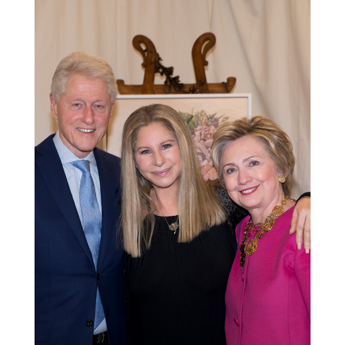 May 6: Barbra Streisand had quite the star-studded crowd including Bill and Hillary Clinton in addition to Josh Brolin, Kathryn Boyd, Ben Stiller, Michelle Williams at her sold out Barclays Center concert in Brooklyn, New York.