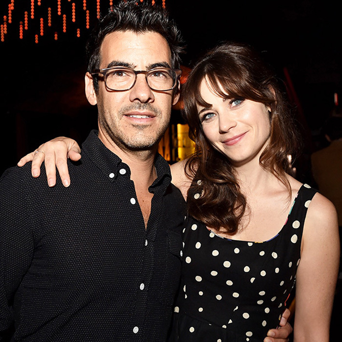<b>Zooey Deschanel and Jared Pechenik</b>