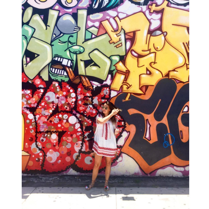 "Princess Stephanie of Monaco's daughter, Pauline Ducruet, flew south to Miami, where she visited the popular Wynwood Walls. Posting an artsy photo of herself from her trip, the design student wrote, ""Wynwood  #Miami.""