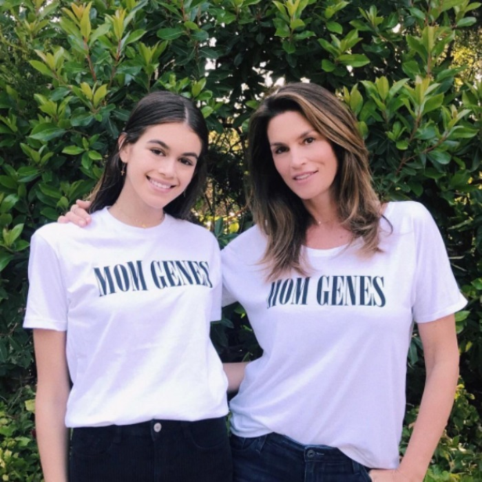 <b>Kaia Gerber and Cindy Crawford</b>