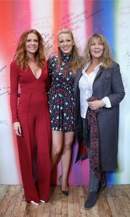 <b>Blake Lively and Elaine Lively</b>