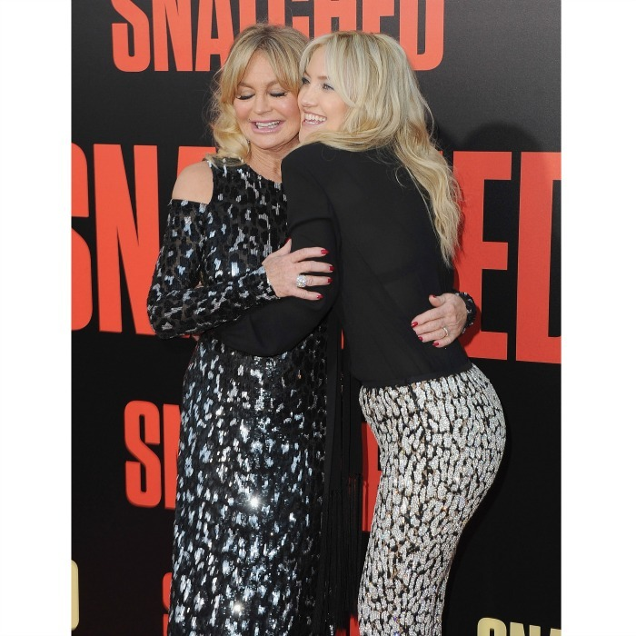 <b>Kate Hudson and Goldie Hawn</b>