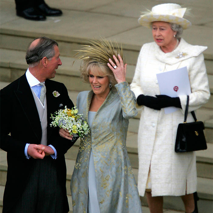 In 2005, Queen Elizabeth did not go to the civil ceremony when son Prince Charles and Duchess Camilla, a divorcée, tied the knot, but did attend the church blessing which followed.