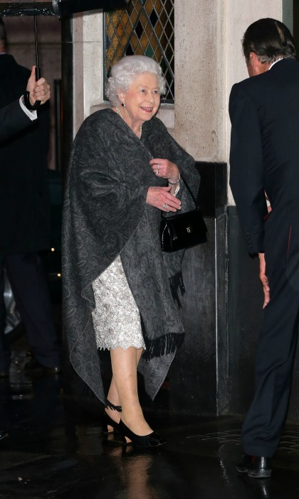 Stepping out! The Queen literally shut down the Covent Garden restaurant The Ivy when she attended an invitation-only party for a friend on May 18. 