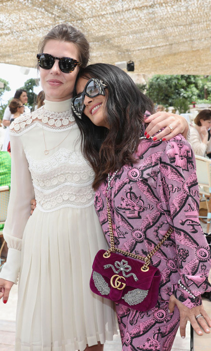 Charlotte Casiraghi and Salma Hayek were ladies who lunch in Cannes with Kering Women in Motion and Madame Figaro.