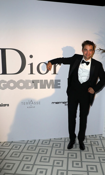 Robert Pattinson is always looking for a good time! The actor celebrated his new film <i>Good Time</i> at Club Albane in Cannes.