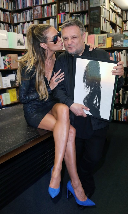 May 26: Heidi Klum and photographer Rankin celebrated the release of the new book <i>Heidi Klum By Rankin</i> in Germany. 