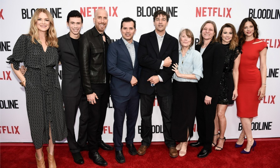 May 24: The cast and crew of <i>Bloodline</i> including Jacinda Barrett, Owen Teague, Todd Kessler, John Leguizamo, Kyle Chandler, Sissy Spacek, Cindy Holland, Linda Cardellini and Hani Avital got together during the Netflix special screening in Culver City, California. 