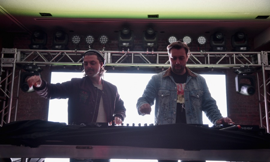 May 25: Turn up the volume! Axwell /\ Ingrosso performed at the first Robin Hood Rocks Charity Concert of 2017 at Kola House in NYC. 