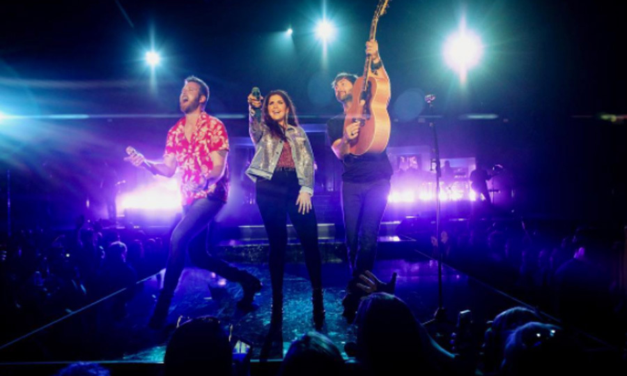 May 28: Lady Antebellum kicked off their <i>You Look Good </i> tour over the weekend with a stop in Wheatland, California where they sang their hits including <i>Heart Break</i>.