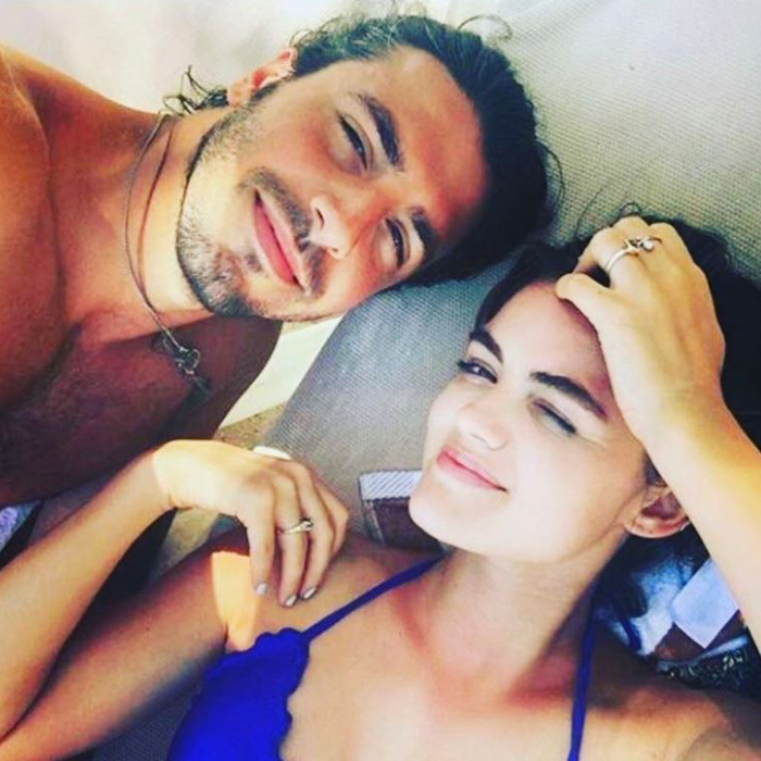 <b>Lucy Hale and Anthony Kalabretta</b>