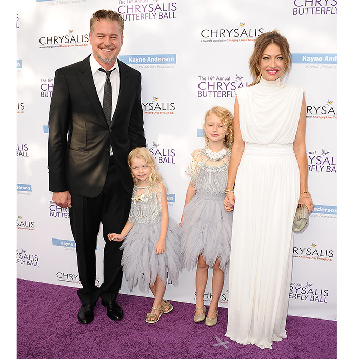 Eric Dane and Rebecca Gayheart brought their little angels – daughters Billie and Georgia – to the 16th annual Chrysalis Butterfly Ball on June 3, 2017 in Brentwood, California.