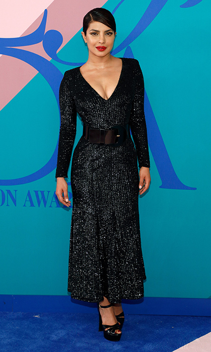 Priyanka Chopra sparkled in Michael Kors.