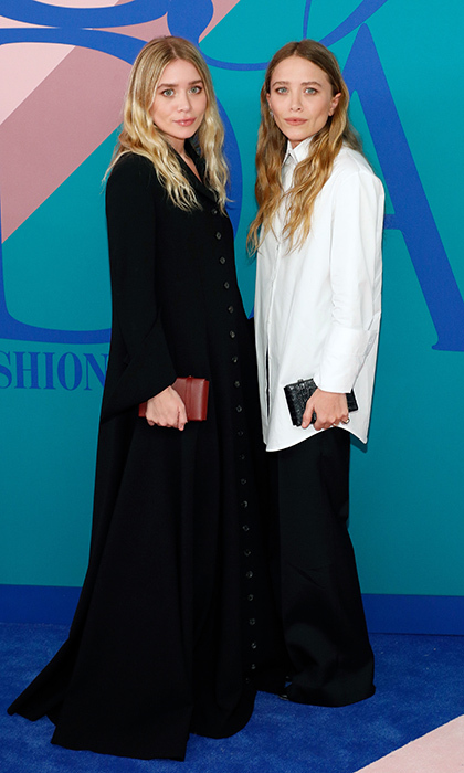 Mary-Kate and Ashley Olsen opted for ensembles by their own brand, The Row.